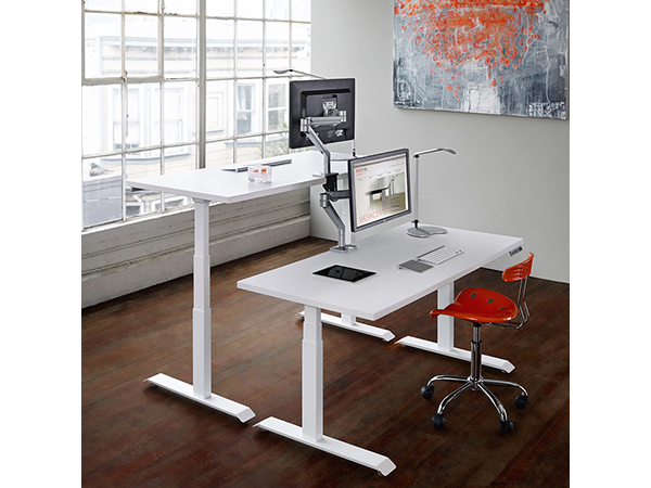 Sit-Stand Desk Electric Base Set, Fundamentals Series