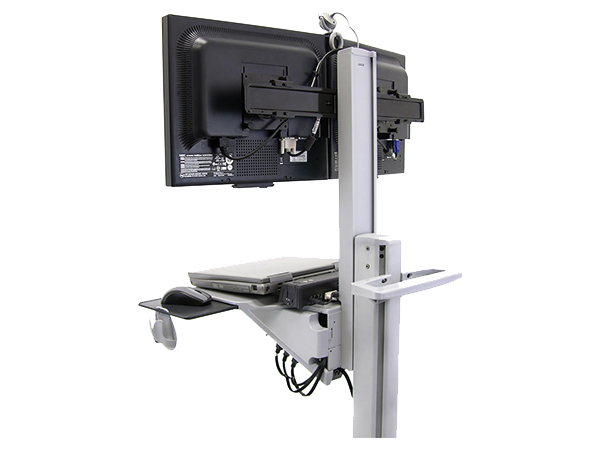 Mobile Dual WideView WorkSpace Neo-Flex, Ergotron