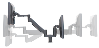 7Flex Dual Monitor Mount