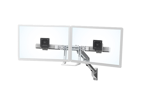 HX Wall Dual Monitor Arm, Ergotron