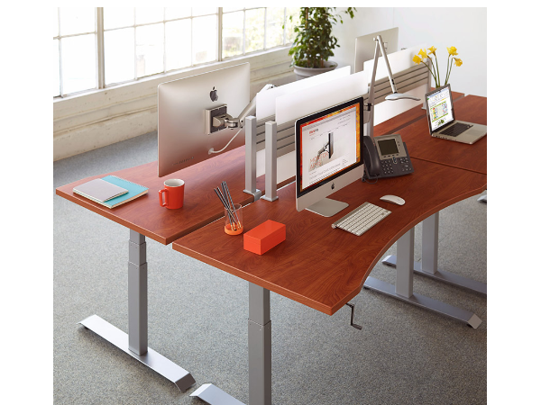 Sit-Stand Desk with Crank, HLX  Sierra Series