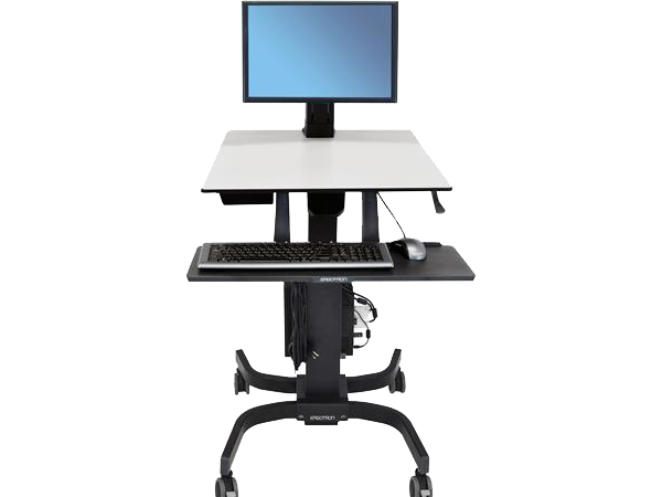 Sit-Stand WorkFit-C, Single HD, Ergotron