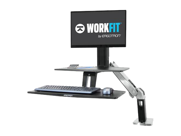 Sit-Stand Arm Keyboard / Monitor, WorkFit-A Series